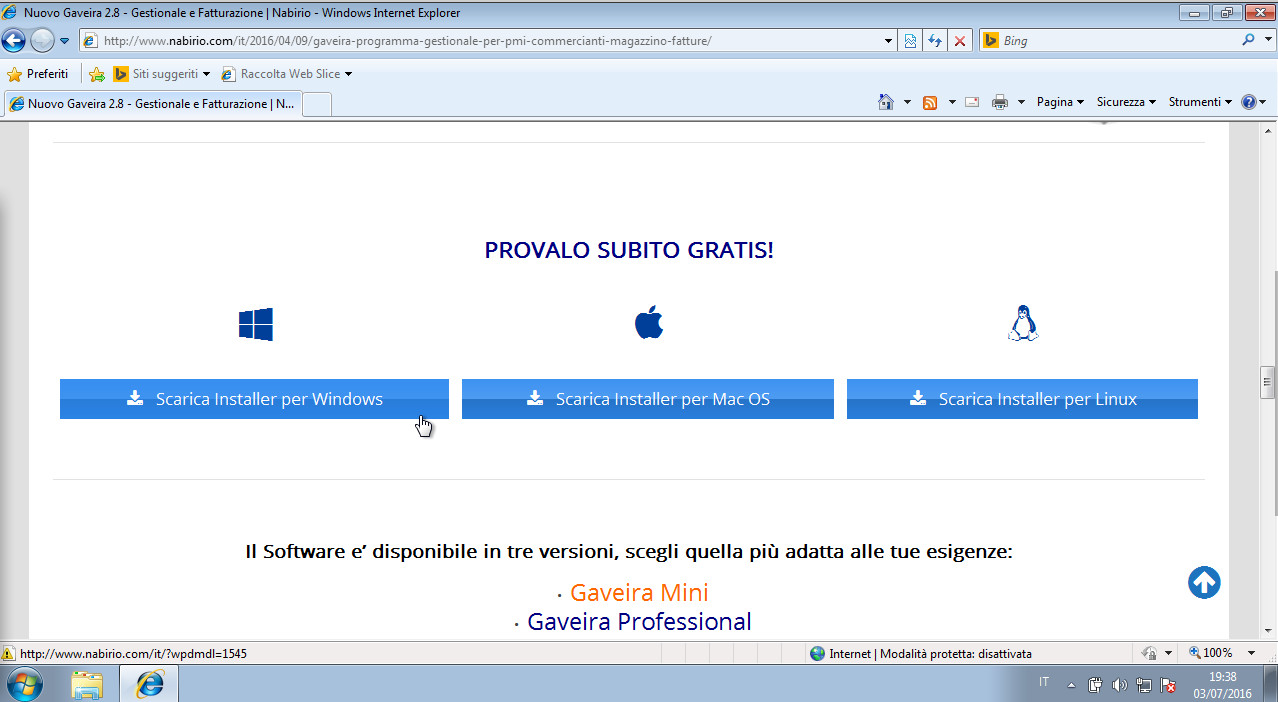 Download di Gaveira Software Gestionale per Commercianti