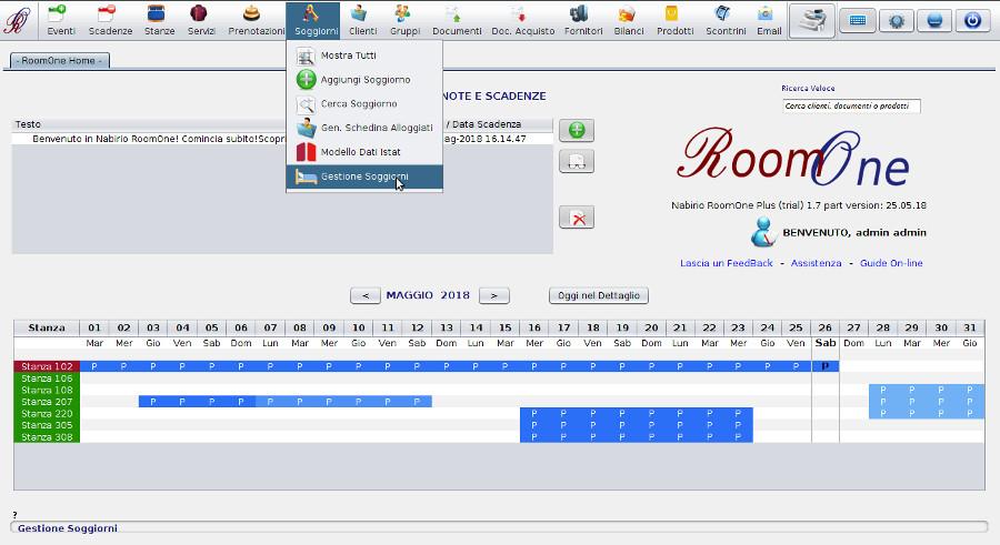 Tassa di Soggiorno - Software Gestionale Hotel | Nabirio