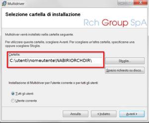 Scontrino Elettronico Registratore Telematico RCH MultiDriverServer Nabirio
