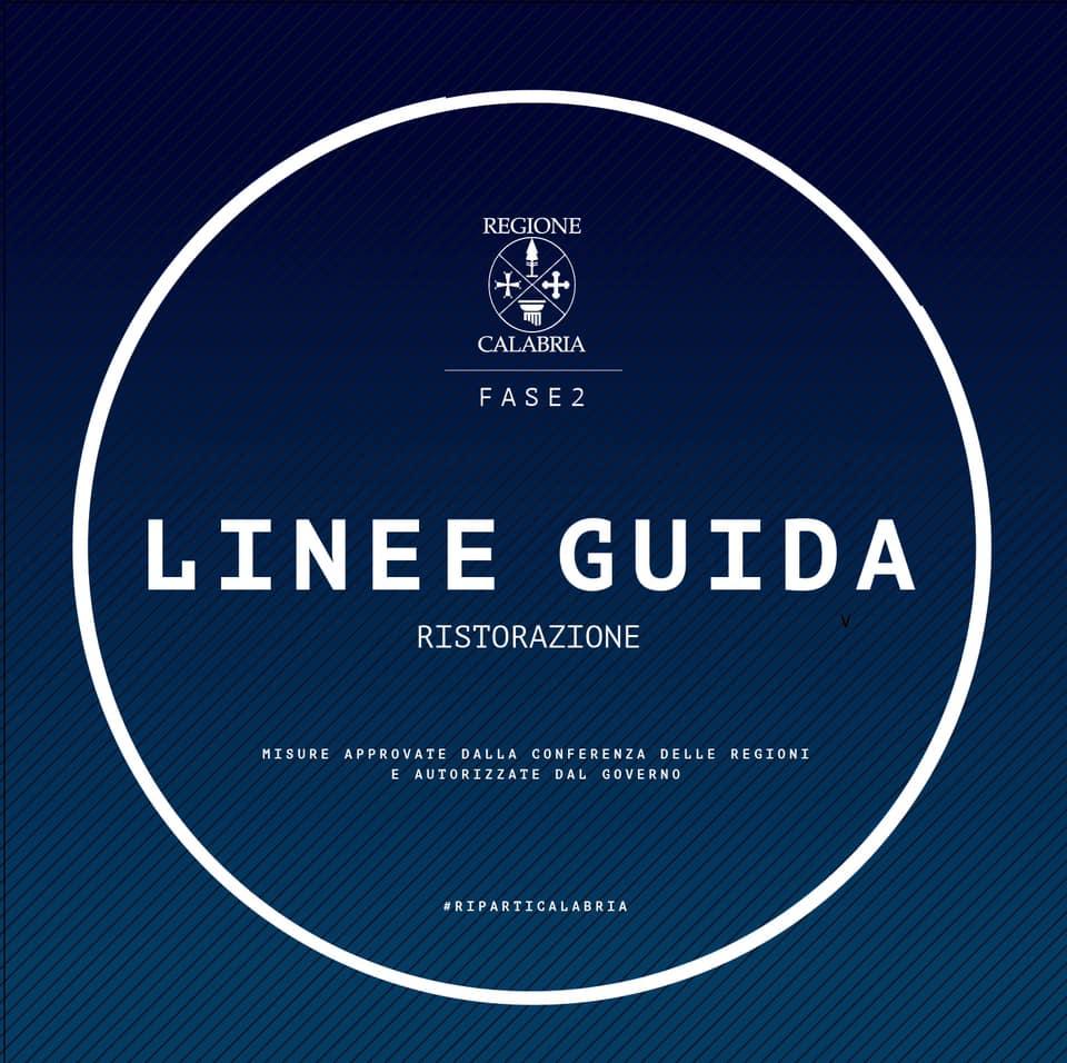 linee guida ristorazione calabria